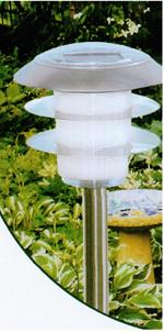 stainless steel solar lighting